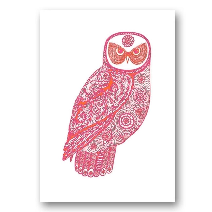 Picture of Miranda Brown Print - Laughing Owl