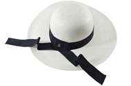 Picture of Lady Classic Panama Hat - White