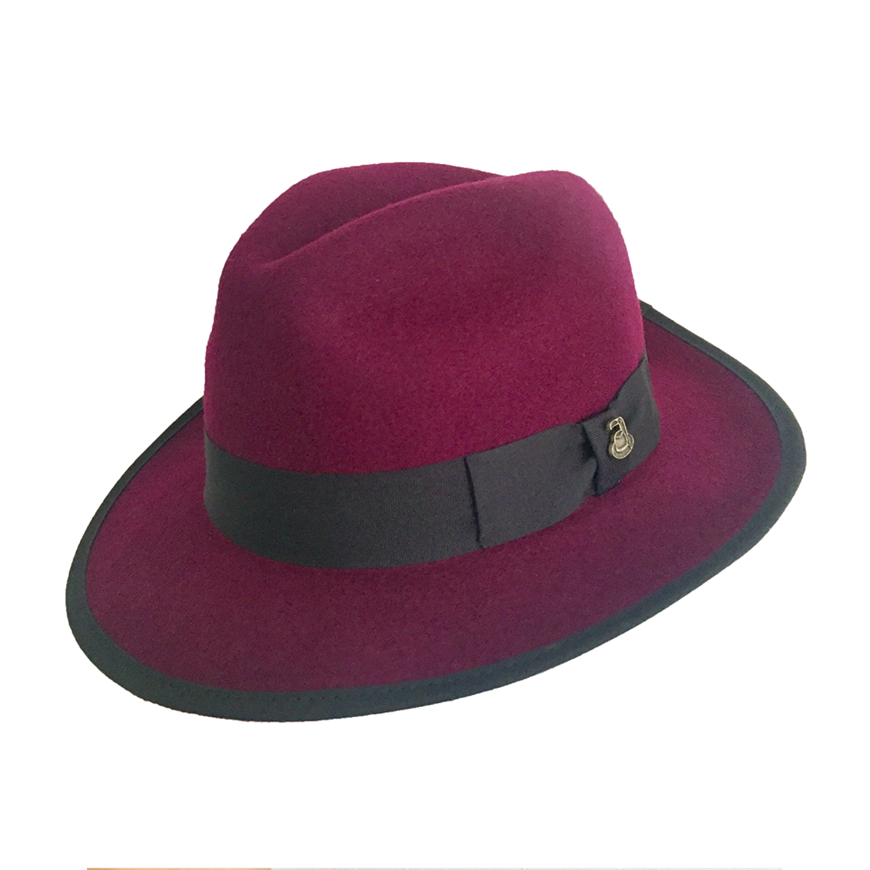 Picture of Wool Fedora - Purple