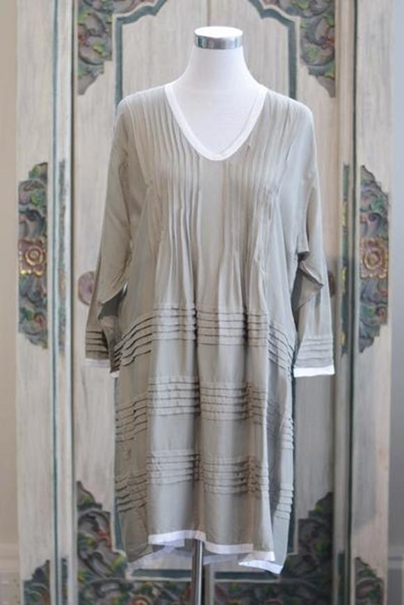Picture of La Madu - Pintuck Dress