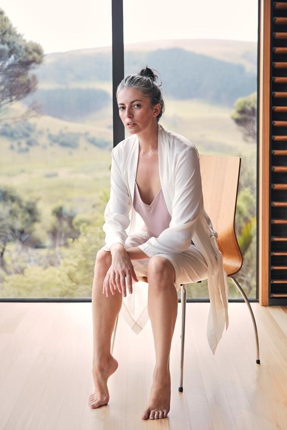 Picture of Pember - Cream Kimono