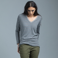 Picture of Nineteen//46 - Relaxed Vee Sweater