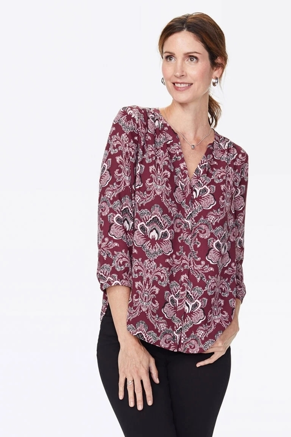 Picture of NYDJ - Pintuck Blouse