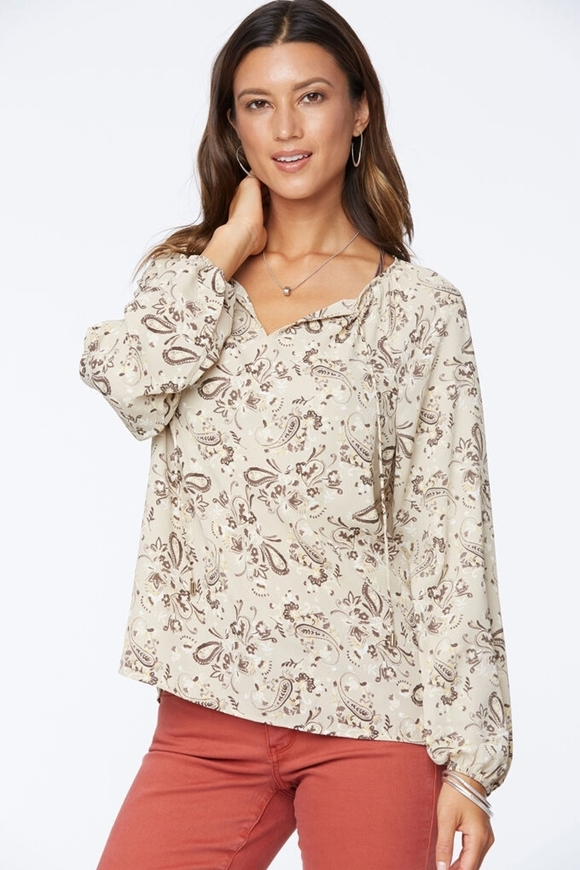 Picture of NYDJ - Peasant Blouse