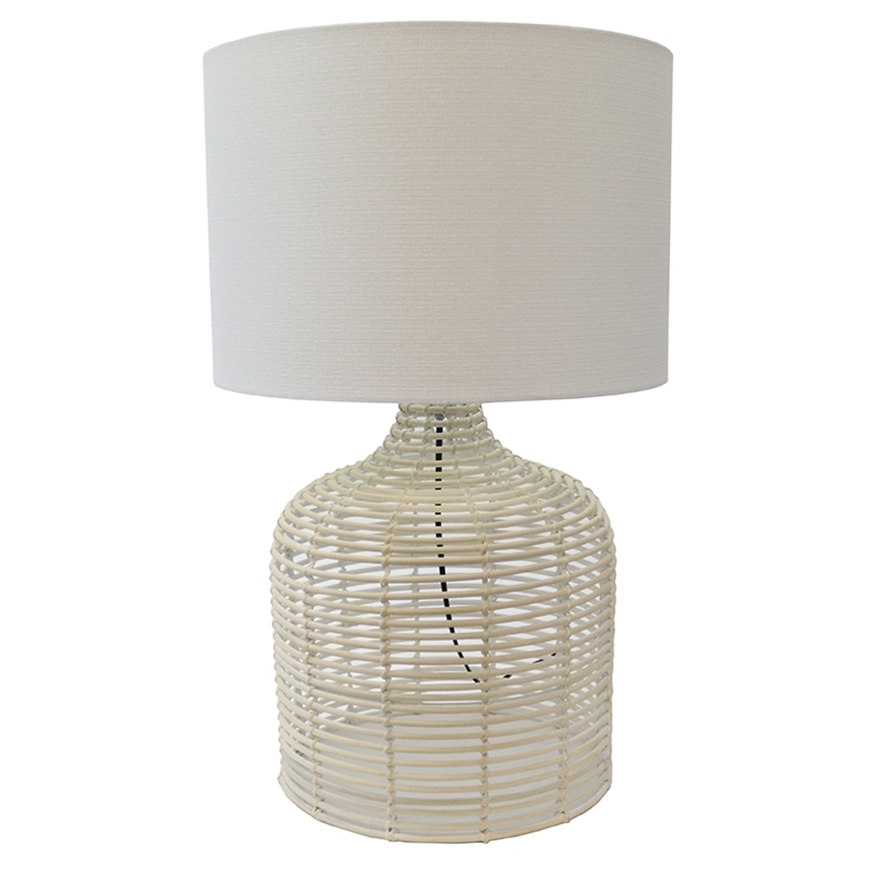 Picture of Le Forge - Rattan Weave Table Lamp