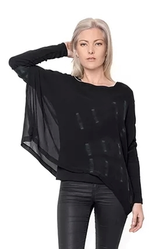 Picture of Harlowe - Hand Dyed Silk Top