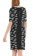 Picture of Marc Cain - Printed Sheath Dress