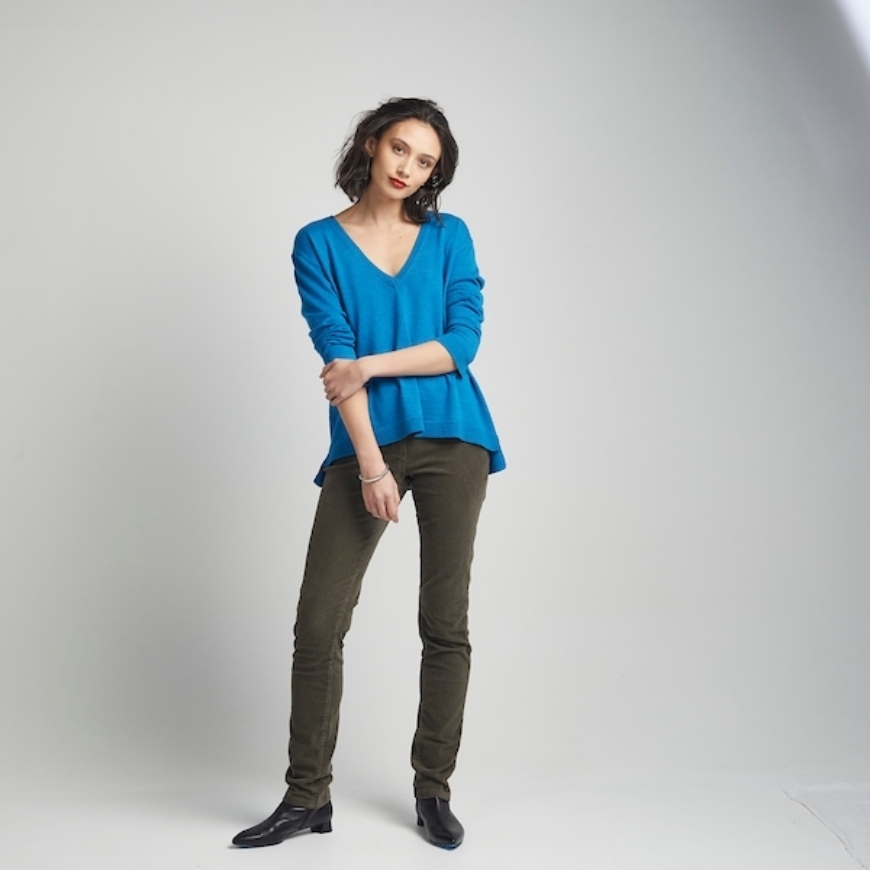 Picture of PJ Jeans - Deep V Sweater