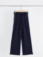 Picture of Aleger - Cashmere Blend Side Stripe Track Pant
