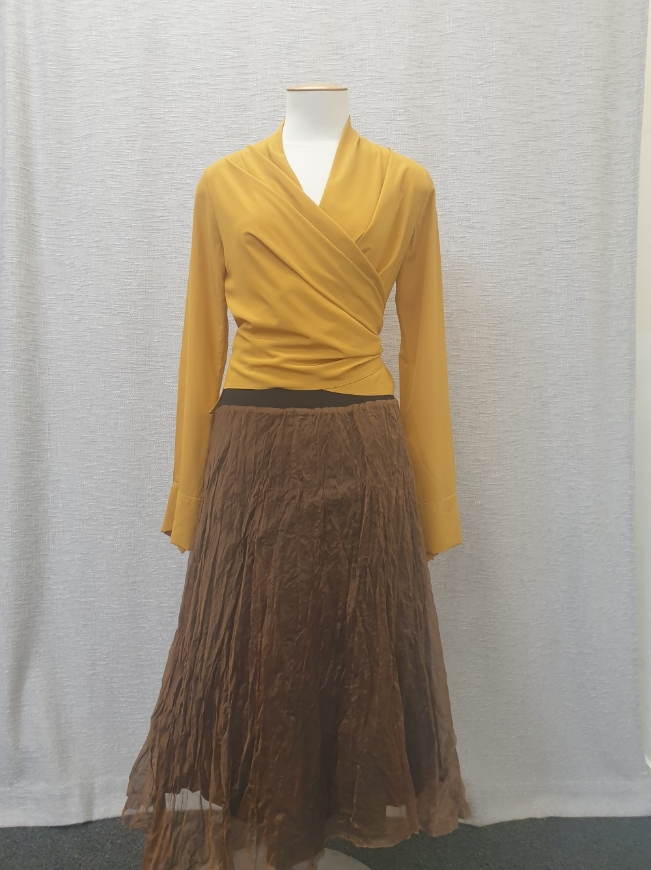 Picture of Amy Miller - Noelle Skirt (Rust)